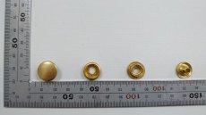 画像2: 【箱入】リングホック#7050 ホソ 真鍮製生地 1000組 (2)
